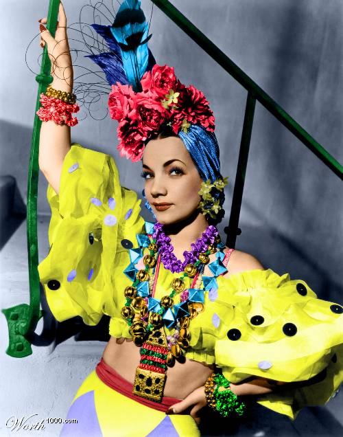 Carmen Miranda, circa 1940