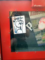 GEE (WNR), VEDO (MEEM (ANON) (WKF)) Tags: streetart philadelphia graffiti stickerart stickers philly usps graff slaps phillygraffiti philadelphiagraffiti