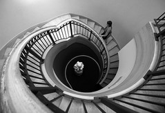 Going up... (louieliuva) Tags: blackwhitephotos