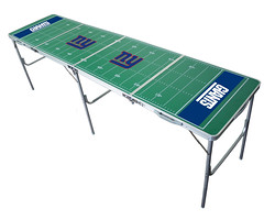 New York Giants Tailgating, Camping & Pong Table