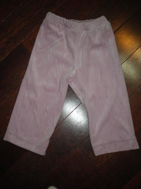 Ottobre 4/2006 #8 Velour pants front