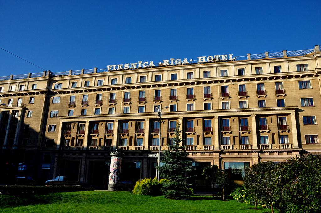 Hotel Riga (Soviet Era Hotel)