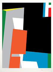 Modernist Abstract Geometric Painting: Bryce Hudson - New Works - 2011 (#10) (brycehudson) Tags: art composition painting photo colorful contemporaryart modernart modernism website minimalism minimalist neoplasticism geometricabstract straitedge geometricabstraction brycehudson hardegde