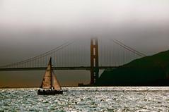Golden Gate Bridge, San Francisco (kingdomany) Tags: ocean sanfrancisco california city travel red sea color america campus berkeley boat nikon scenery unitedstates goldengatebridge captain d90 colorphotoaward bestcapturesaoi elitegalleryaoi