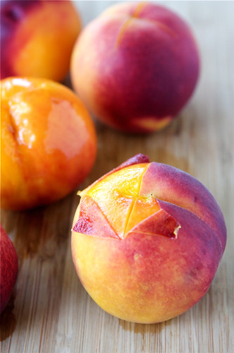 How to: Peel a Peach
