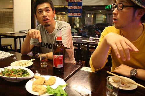 [台湾2.5] シーフードショップで飯