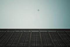 (onesevenone) Tags: sky toronto canada up plane airplane hotel himmel sheraton flugzeug