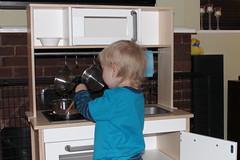 """Cook-in'"" (Kninki) Tags: birthday present boychild"