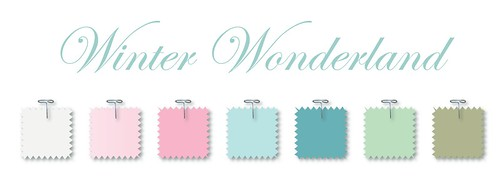 Winter Wonderland Christmas colour palette