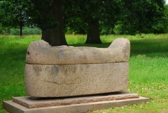 Egyptian sarcophagus, Kingston Lacy gardens (Forest Pines) Tags: archaeology stone ancient egypt dorset granite sarcophagus coffin statelyhome nationaltrust wimborne countryhouse ancientegypt egyptology kingstonlacy stonecoffin wimborneminster bankes stonesarcophagus kingstonlacyhouse kingstonlacygardens kingstonlacyestate williambankes granitesarcophagus granitecoffin archaeologicalplunder williambankesmp williambankesfrs