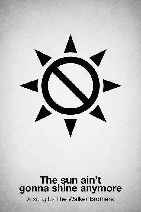 Pictogram Music Poster