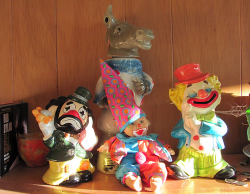 My new clown collection is growing...