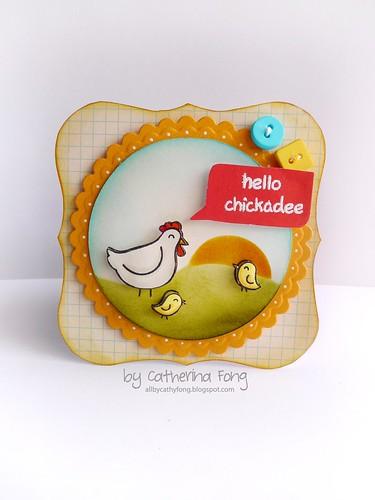 hello chickadee