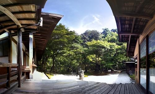 Jardín budista