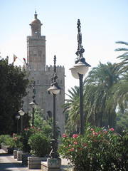 torre del oro, sevilla (danielnanreik) Tags: world madrid blue sleeping white mountain black color roma tree castle church beauty architecture river de real spain catholic view cathedral roman stadium soccer military south muslim disney seville andalucia aqueduct spanish toledo seats segovia alhambra granada universidad alcazar vista moor academy futbol fortress ronaldo alcala bernabeau medievial hernares