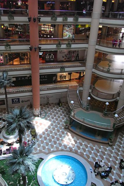 エジプト、カイロ、「シティ・スターズ」ショッピングセンター