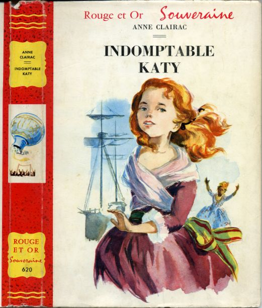 Indomptable Katy, by Anne CLAIRAC