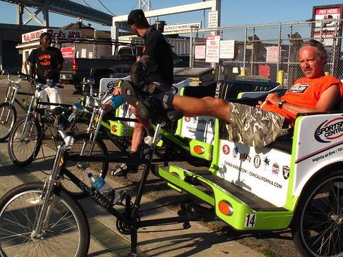pre game pedicabs
