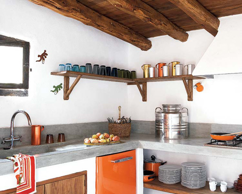 A Renovated Spanish Farmhouse