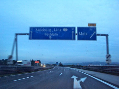 Preparation for Road trip: Budapest to Cologne, Passing Linz