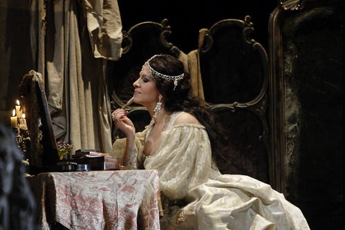 Our quick introduction to Cilea's impassioned theatre tragedy, sumptuously realized in David McVicar's Royal Opera production.