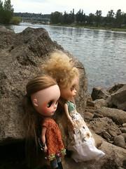 Two Friends Taking A Break...