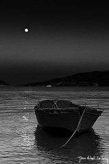 Moonlight Craft (Jean-Michel Leclercq) Tags: ocean sea moon turkey boat craft turquie bark moonlight tr marmaris mugla