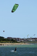 Kite Surfing (Kate M Gray) Tags: kitesurfing solent kategray panasonicg2