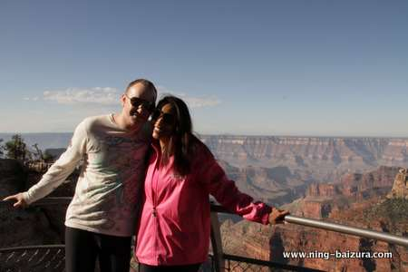 Ning & Chris Grand Canyon