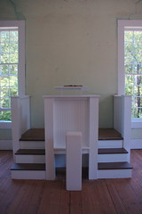 Old Pickens Presbyterian Pulpit