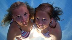 [Free Image] People, Children, Girls, Swimwear, Bikini, 201108180900