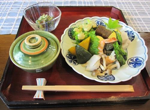 ご飯と野菜料理@花ふうろ 2011年8月6日 by Poran111