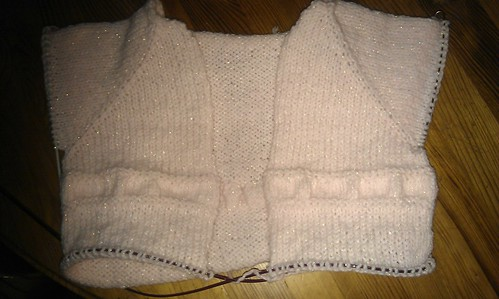 Saffron cardigan - in progress by sandra_mcg