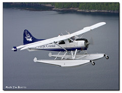 The Flying Beaver (ian_beatty) Tags: britishcolumbia aviation beaver seaplane floatplane dhc2 pacificcoastal