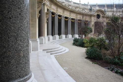 Petit Palais interior garden