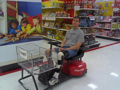 Dennis Post ACL Shopping at Target