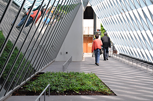 Seattle Central Library - Entry