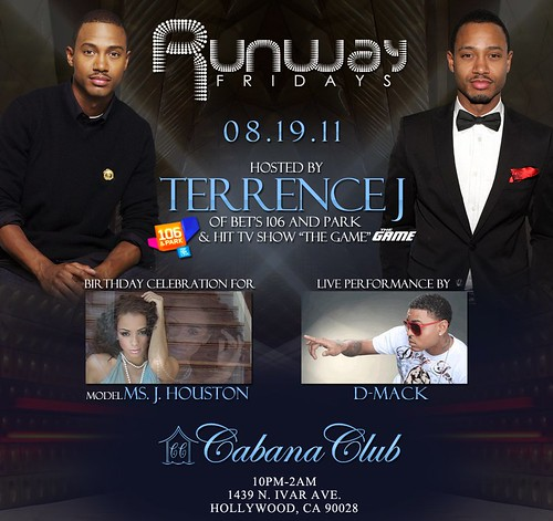 #RunwayFridays w/ #106&Park Hollywood Terrence J & More! 8-19-11 #LANightLife by VVKPhoto