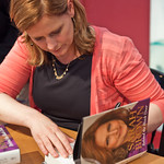 Sarah Brown book signing