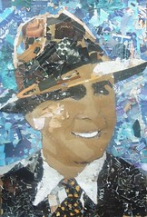 """Carlos Gardel"" by 7 year-old children by dibujandoarte"