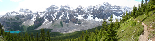 Moraine Lake/Valley of the Ten Peaks panoramic