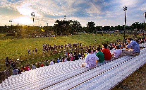 Smyrna Middle School Football Field Tennessee by crovean