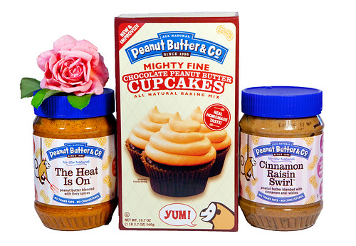 Flavored peanut butters and Chocolate Peanut Butter Cupcake Mix
