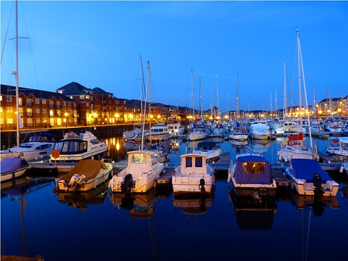 Swansea Marina by PhotoPuddle