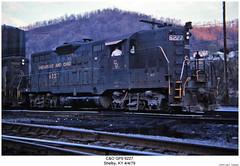 C&O GP9 6227 (Robert W. Thomson) Tags: railroad train diesel kentucky railway trains co shelby locomotive trainengine geep emd gp9 chessiesystem chesapeakeohio fouraxle