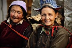 Portrait of Ladakhi women (Sayid Budhi) Tags: costumes portrait people india costume clothing traditional clothes human himalaya jk humanitarian ladakh alchi northindia etnic travelphotography northernindia saspol ladakhiwomen ladakhiwoman suspol travelasiaphotographycom jammukashmirprovince achivillage ladakhiwomandressedintraditional