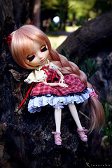...Who Fell Asleep (Rinoninha) Tags: outdoors doll cream chips lolita wig pullip 27 mueca exteriores coolcat peluca leeke obitsu leekeworld rewigged rechipped tiphona