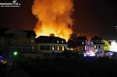 Großbrand Holzhütten Rüdesheim 21.08.11