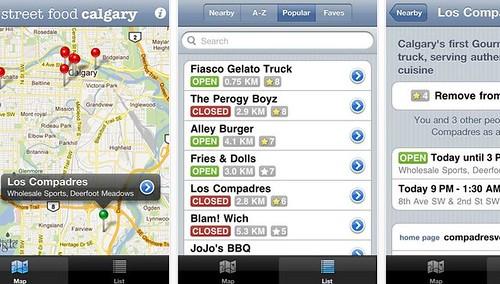 calgary street food app