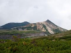 烏帽子岳と黒岳